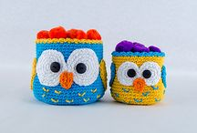 Crochet - Owls !