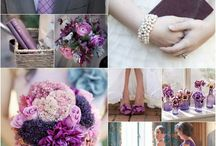 Orchid/ Lavener/ Plum Wedding Inspiration