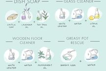 Natural Cleaning & Homekeeping Tips / DIY recipes and ideas for non-toxic, all-natural household cleaners.