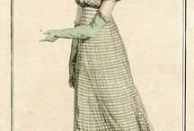 Fashion plates: 1812 / Fashion plates from 1812.