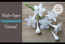 waffer paper flowers