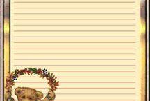 Dopisní papíry - Stationery