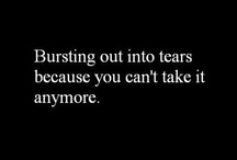 I believe Strong people Cry the Most