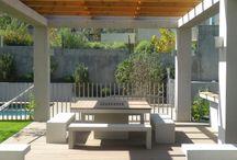 Quinchos, terrazas, deck