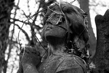 highgate cemetery / by Elena Yami