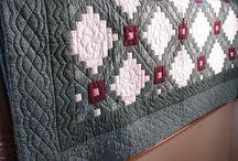 Ønskeblokken Irish Chaine / Quilts og lappeteknikk med Irish Chaine teknikker.