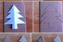 Arbil de carton / Carton papel tree