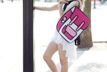 Cartoon Backpacks 2D BAGS