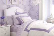 Girl's Lavender Bedroom