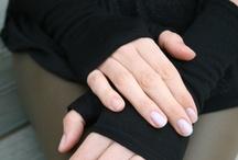 Cosy Hands / merino wool hand warmers.