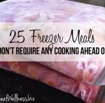 Freezer/ make ahead recipes / Healthy Food in a busy world