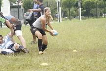 Time de Rugby  /  - THE DREAMERS - Time de rugby treinado por  VIctória Prosdócimi, atleta do time Acauã Rugby Clube.