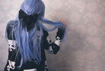 Hair! / Hairdos, styles, colors, or accessories I like!!  / by Rachel Schinkal
