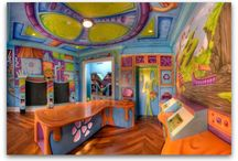 Dream home kids rooms! / by Rachel Jowers
