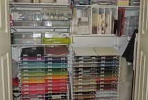 Scrapbook Supply Organization / Office/scrap room organization