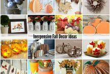 Fall / Autumn Deco ideas