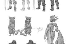 Characters and how to draw