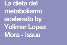Dieta metabolismo acelerado