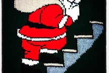 Bexknitwear Christmas jumpers / Hand knitted Christmas sweaters