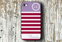 Sigma Kappa sorority gifts / Sigma Kappa sorority gift ideas.  We offer monogrammed items including cases for your iPhone, iPod and iPad.  Officially licensed Greek product.