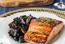 Salmon recipes / by Kelsey Kloepper
