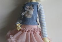 Blablette's dolly clothes / Doll-clothes made by myself.
