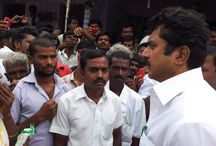 Mr. Sarath Kumar interacting with the public