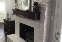 Fireplace....
