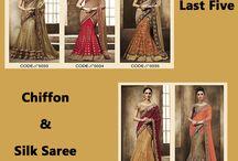 Chiffon & Silk Sarees