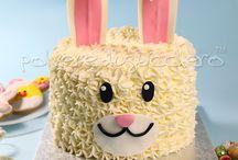 Tutorial Bunny cake by www.polveredizucchero.com