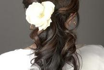bridal long hair