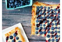 Rustic Blueberry Lemon Tart