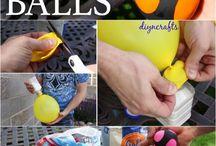 Κατασκευές με μπαλόνια