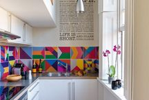 Bright small kitchen