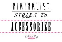 Minimalist Styles to Accessorize / Best Minimalist outfits to add accessories, bracelets, cuffs and necklaces