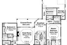 Home - Floor Plans / by Michelle Bennett