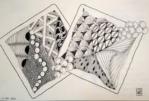 Zentangle, Zendoodle, Doodles