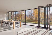 Haus Glasfront