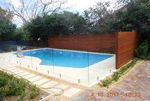 Backyard Pool Fence ideas