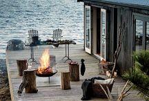 Sjøbu/maritim hytte