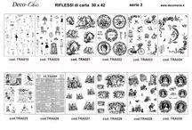 NOVITA' AUTUNNO 2015 / Carta di riso serie 20 (12 disegni formato 35x50) Riflessi di carta serie 3 (immagini per il trasferimento di pigmento in formato A3)