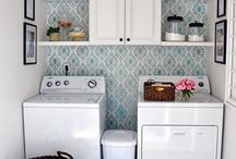 Laundry room/ mud room / by Mallory Roth Rick