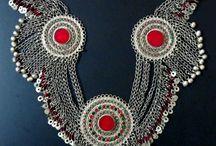Afghan and tribal jewelry /  Handmade jewelry, Handmade Necklace, tribal, afgan jewelry  #handmade #exclusive #tribal #Afghan #jewelry