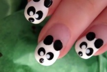 Nail arts and makeup / Find the nail design you love and also find the makeup you live