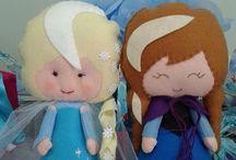 Arte / Elsa e Ana   Frozen