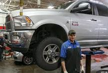 """Auto Body Going Green / The automotive industry is working hard to """"go green""""."""