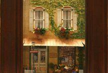 Shadow box miniatures
