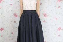 Skirt / Een rok, die heel makkelijk zelf te maken is