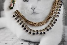 Cats, Beads and Jewelry! / Fun and cute!
