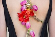 Floral jewellery / Amazing floral crafts
